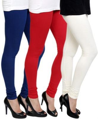 Roma Creation Women's Blue, Red, White Leggings