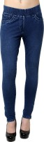 Westwood Women's Dark Blue Jeggings best price on Flipkart @ Rs. 899