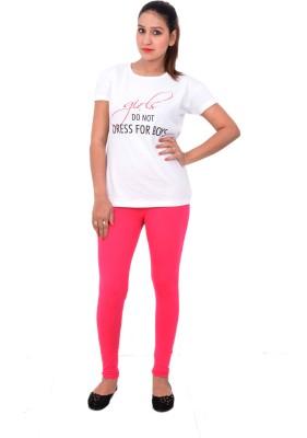 Yellow Knife Women's Pink Leggings
