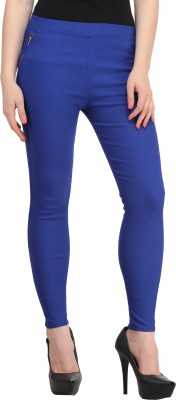 PRIHO Women's Blue Jeggings