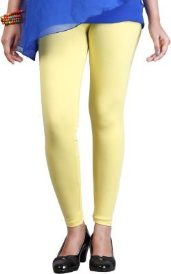 ZyCra Women's Yellow Leggings