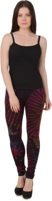 Mojeska Women's Purple Leggings