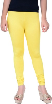ambey shree trendz Women,s Yellow Leggings