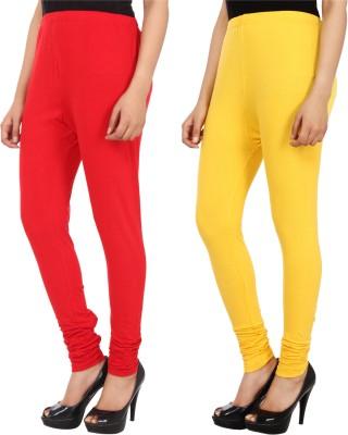 Xposé Women's Yellow, Red Leggings
