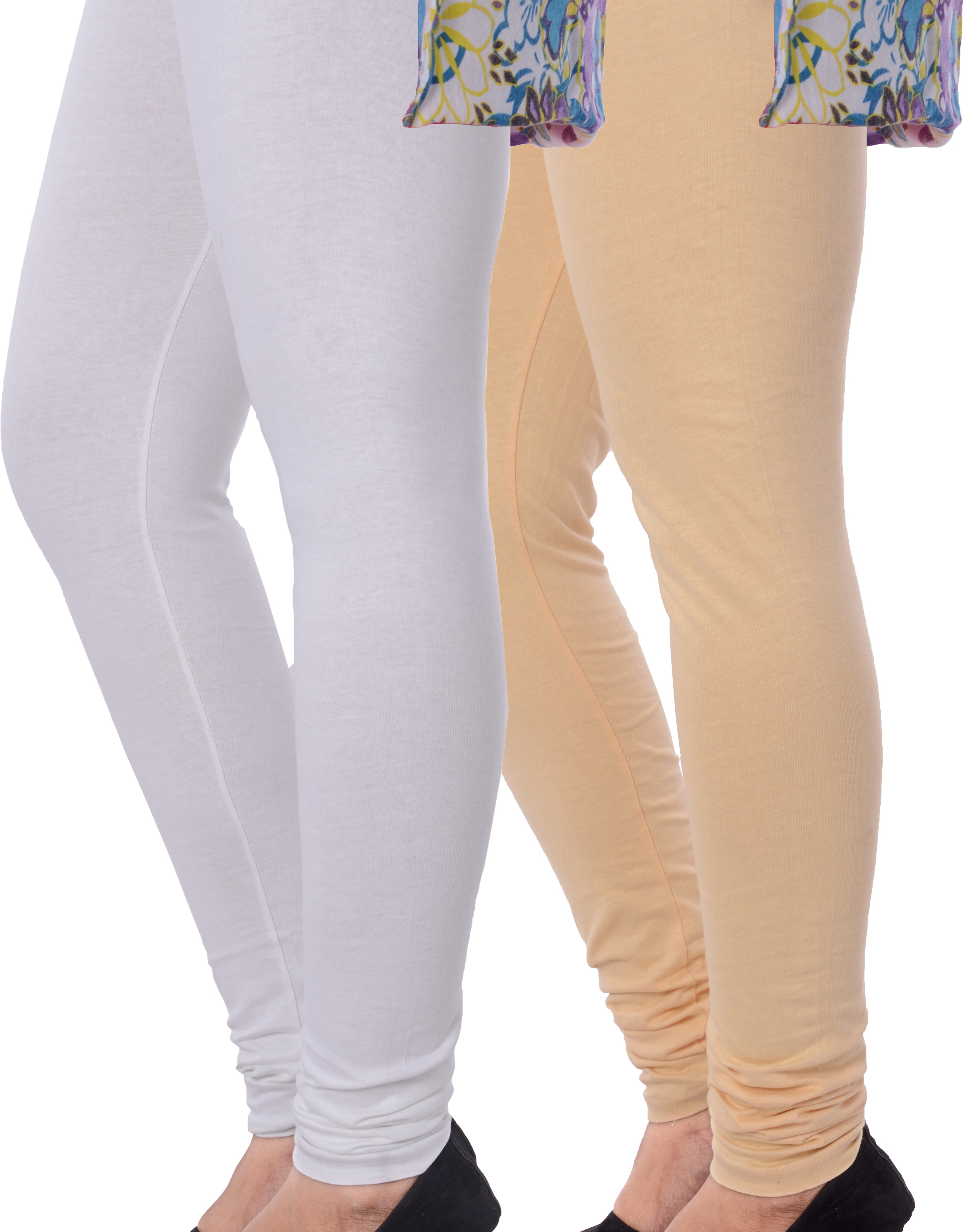 Grafion Womens Multicolor Leggings(Pack of 2)