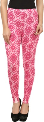 Beetle Women's Pink, White Leggings