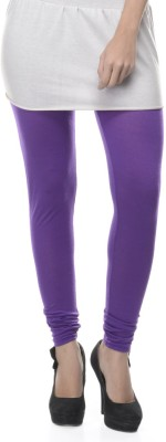 Lavennder Women's Purple Leggings