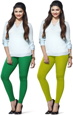 Amul Florio Women's Green, Light Green Leggings