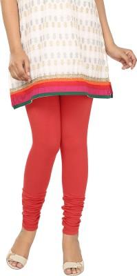 Agrima Fashion Women's Red Leggings