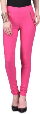 American-Elm Women's Pink Jeggings