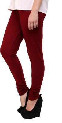 Scorpio Fashions Women's Maroon Leggings