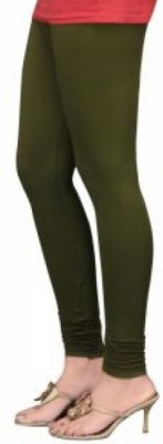 Aamyra Women's Green Leggings