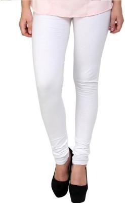 Fadattire Women's White Leggings