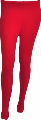 No Exxcess Women's Red Leggings