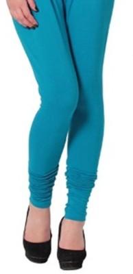 Idesign Women's Light Blue Leggings