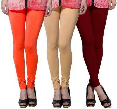 Both11 Women's Beige, Pink, Maroon Leggings
