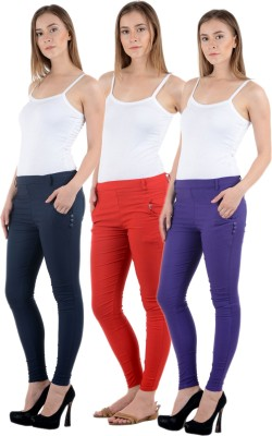 Tej Star Women's Multicolor Jeggings