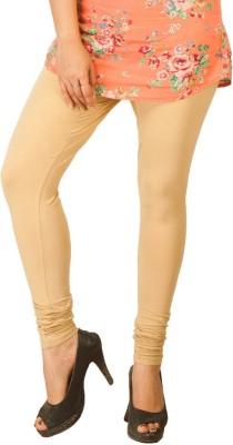 Shiv Fabs Women,s Beige Leggings