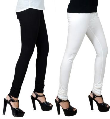 JSA Women's Black, White Leggings