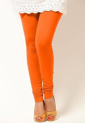 OrganicO Women's Orange Leggings