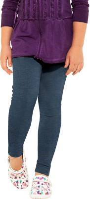 Go Colors Girl's Brown Leggings