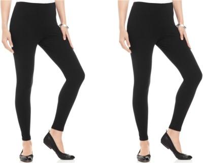 Kamaira Women's Black Leggings