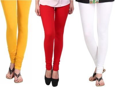 Vastra Buzz Women's Yellow, Red, White Leggings