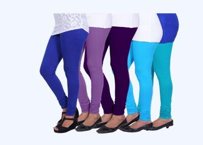 CHIGGY WIGGY Women,s Purple, Light Blue, Blue, Purple, Blue Leggings