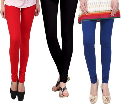 Vastra Buzz Women's Blue, Red, Black Leggings