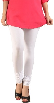 Meril Women's White Leggings at flipkart