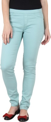 Irene Women's Green Jeggings