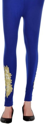 Ishani Collections Women,s Dark Blue Leggings