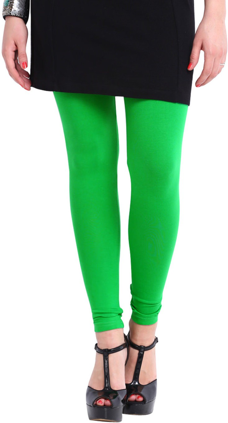 Angel Soft Womens Green Leggings