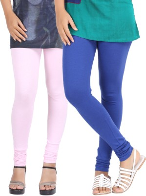 Be-Style Women,s Pink, Blue Leggings