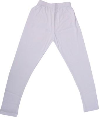 Perky Girl's White Leggings
