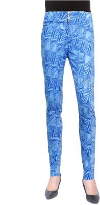 Trendellite Women's Blue, White Jeggings