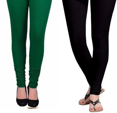 Vastra Buzz Women's Green, Black Leggings