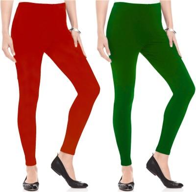 Kamuk Life Women's Green, Red Leggings