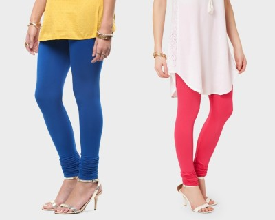 Super Stretch Women's Pink, Blue Leggings