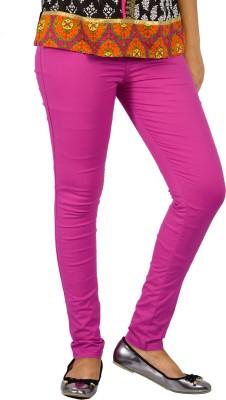 E-Wa Women's Pink Treggings