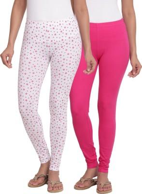 Slumber Jill Women's Pink, White Leggings