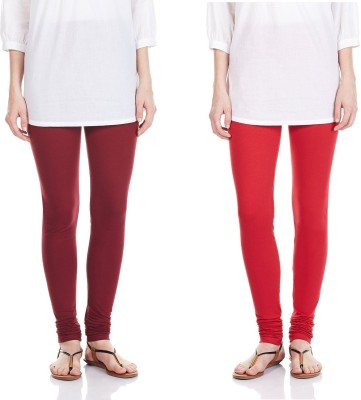 SRS Women's Maroon, Red Leggings
