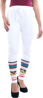 Satrangi Women's White Leggings