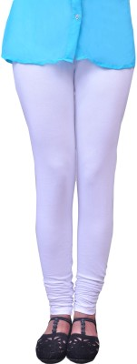 Anubhaviya Women's White Leggings