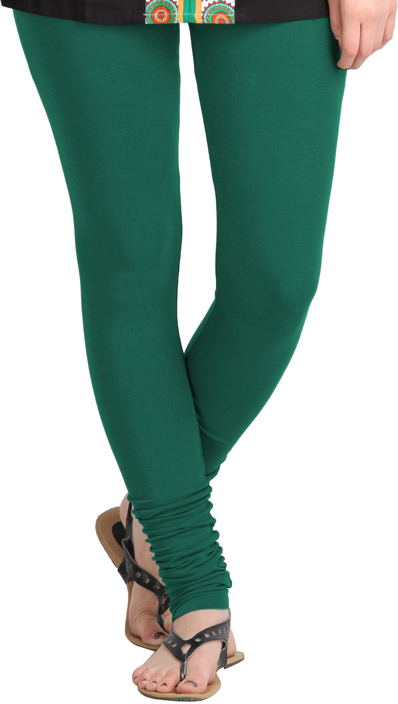 MSS WINGS Womens Green Leggings