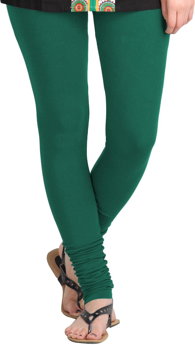 MSS WINGS Womens Green Leggings