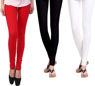 Vastra Buzz Women's Red, White, Black Leggings