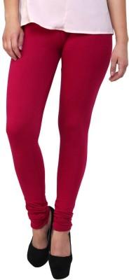 Lasunj Women's Maroon Leggings