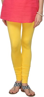Fashionjackpot Women's Yellow Leggings