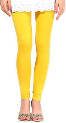 Mrignayaneei Women's Yellow Leggings